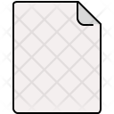 Blank Document Notes Icon