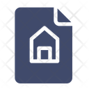 Document Home House Icon