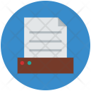 Document File Drawer Icon