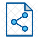 Document File Share Icon