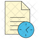 Document Time Paper Icon