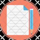 Document Letter Write Write Us Icon