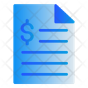 Document Report Tax Icon