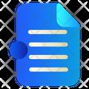 Document File Data Icon