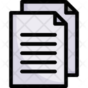 Document Pages Sheet Icon