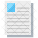 Document Sheet Text Document Icon