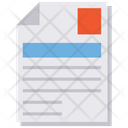 Document Sheet Text Sheet Icon