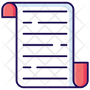 Document Folded Paper Letter Icon
