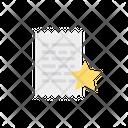 Document Receipt Sheet Icon
