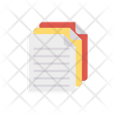 Document Files Sheet Icon