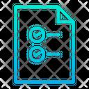 Document Checklist Page Icon