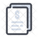 Document Report Business Icon