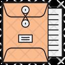 Bag Document Files Icon