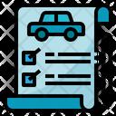 Document List Machine Icon