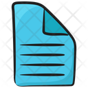 Document File Record Icon