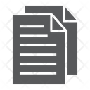 Document File Sign Icon