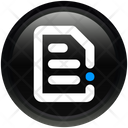 Media Document File Icon