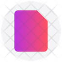 Interface Document Paper Icon