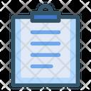 Document File Binder Clip Icon