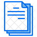 Document Files Office Icon