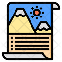 Brochure Document Email Icon
