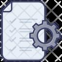 Document Technical Configuration Icon