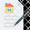 Document Estate Agreement Icon