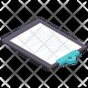 Document Paper Clipboard Icon
