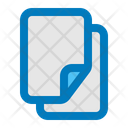 Document Files Papers Icon