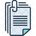 Document Paper Certificate Icon
