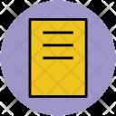 Document Report Text Icon