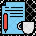 Document File Mug Icon