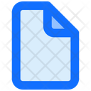Document File Blank Icon