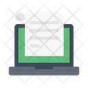 Document Elearning Online Icon