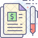 Document Sign Document Sign Agreement Icon