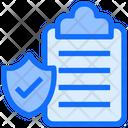 Document Checklist Clipboard Icon