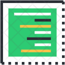 Document Right Alignment Icon