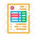 Document Table Credit Icon