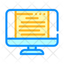 Document Data Computer Icon