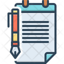 Trusts Legal Document Icon