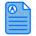 Document Raport Score Icon