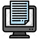 Document Submit File Icon