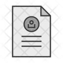 Document Account Profile Icon
