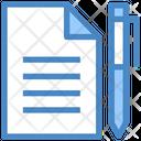 Document Pen Justice Icon