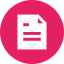 Document Paper Text Icon