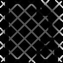 Document F Lock Icon