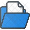 Document File Directory Icon