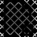 Document S Block Icon