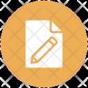 Document Edit File Icon