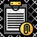 Document Attachment Icon